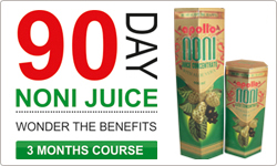 Noni Juice Health Benefits in 90 Days Trial