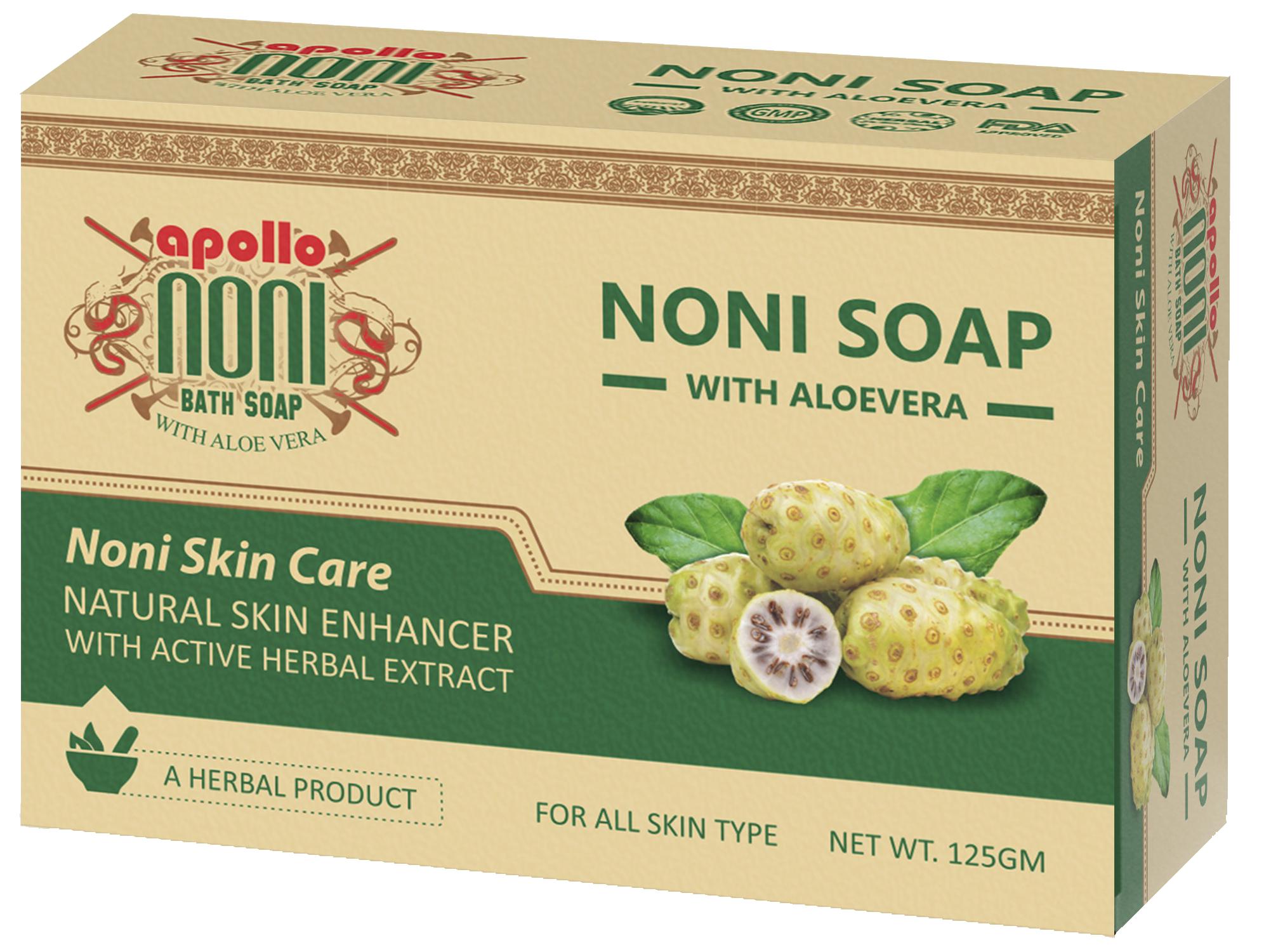 Organic Apollo Noni Herbal Hand Made Soap